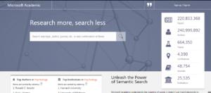 أَضخم محرك بحث أكاديمي