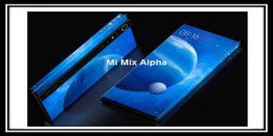 شركة شاومي تكشف عن هاتف Mi Mix Alpha الجديد