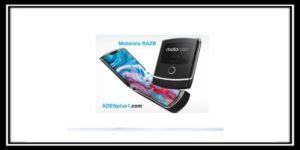 الكشف عن أولى صور هاتف MotorolaRAZR القابل للطي
