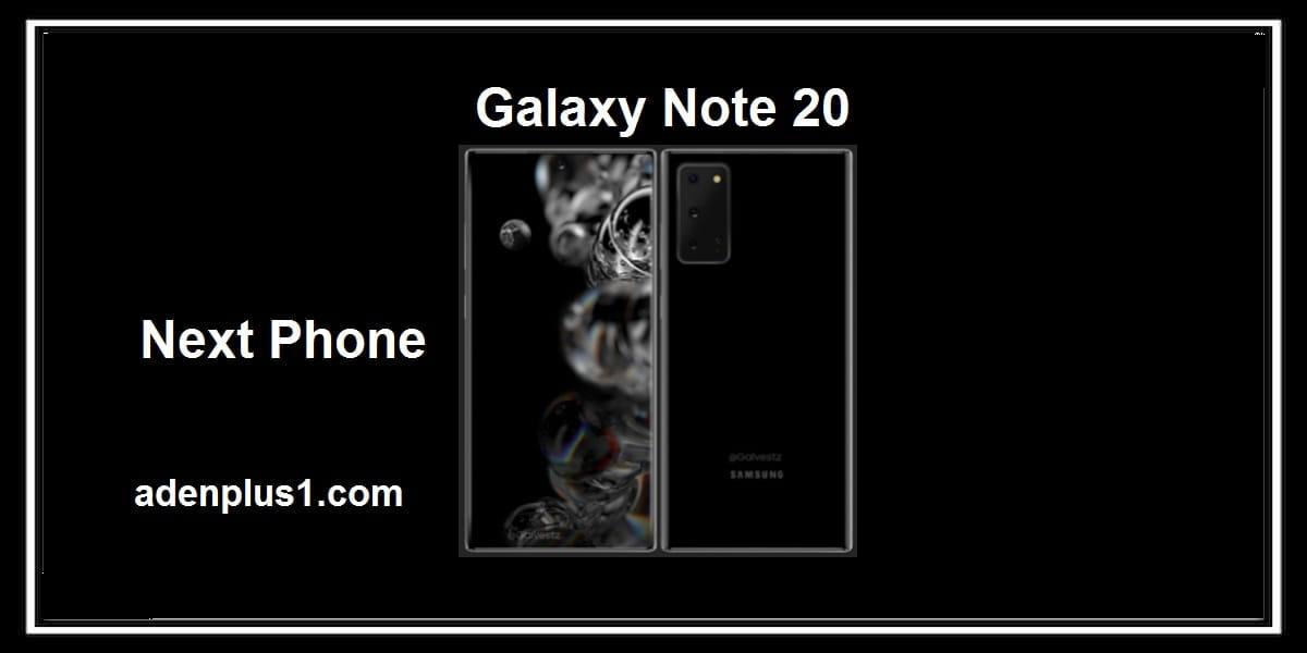 تسريبات أولى صور لهاتف Galaxy Note 20 من سامسونج