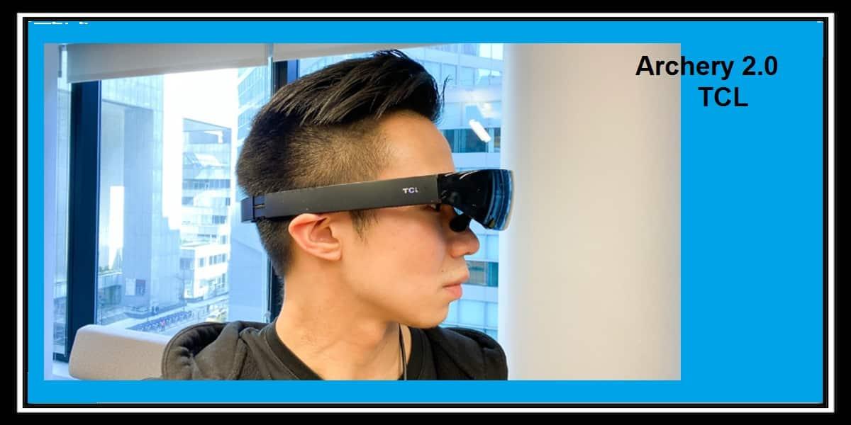 شركه TLC تستعرض نظارة الفيديو Archery 2.0