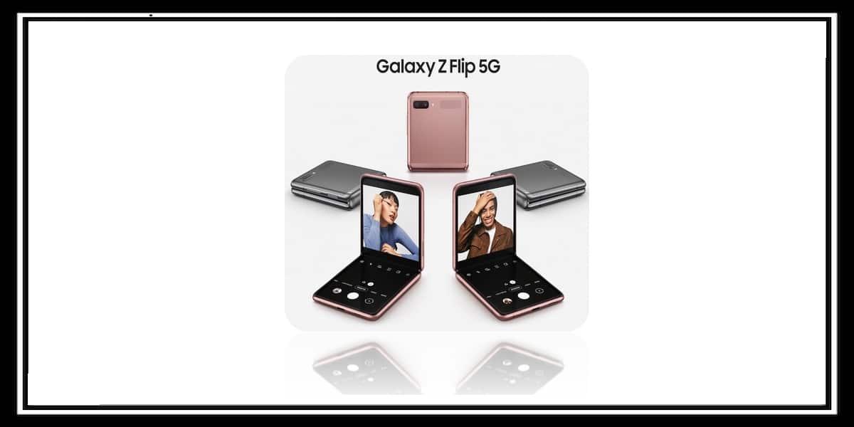 شركة سامسونج تكشف عن هاتفها Galaxy Z Flip 5G