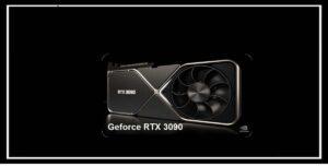 Geforce RTX 3090 كشفت شركة إنفيديا اقوى كرت شاشة 2020 معالج رسومية