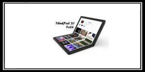 ThinkPad X1 Fold أول حاسوب قابل للطي من شركة لينوفو