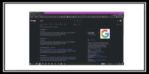 جوجل تختبر ميزة السواد على محرك البحث الويب 2020