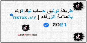 Read more about the article طريقة توثيق حساب تيك توك بالعلامة الزرقاء 2021 | توثيق TikTok